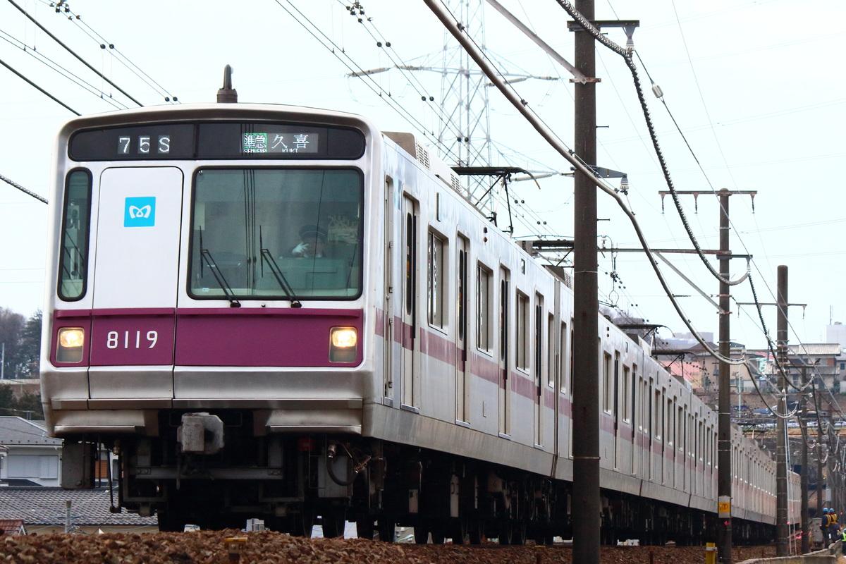 Train Directory 鷺沼検車区 800...