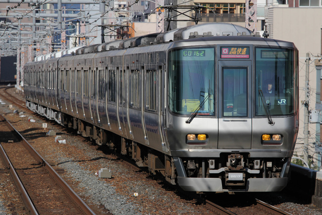 吹田総合車両所日根野支所223系HE433編成を鶴橋駅で撮影した写真