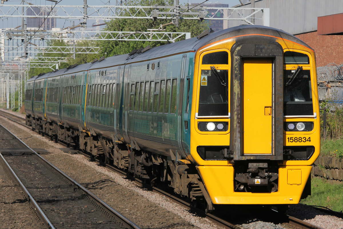 Arriva Trains Wales  Class158 834