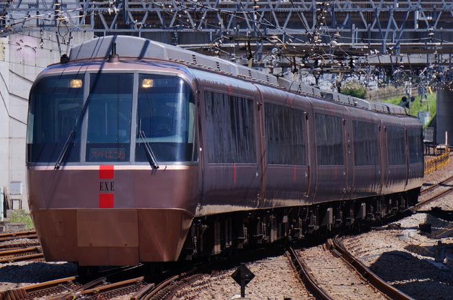 海老名検車区30000形30255×6を相模大野駅で撮影した写真