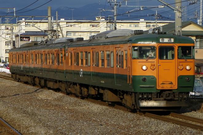 115系T1036を井野駅で撮影した写真