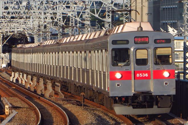 8500系8636Fを二子新地駅で撮影した写真