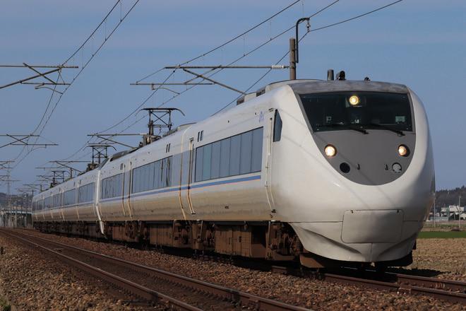 681系を丸岡~芦原温泉間で撮影した写真