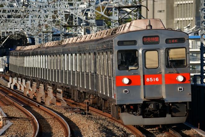 8500系8616Fを二子新地駅で撮影した写真