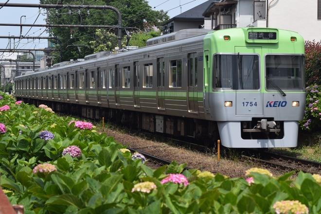富士見ヶ丘検車区1000系1704Fを高井戸~浜田山間で撮影した写真