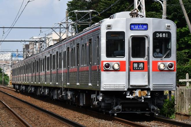 宗吾車両基地3600形3688編成を谷津~京成津田沼間で撮影した写真