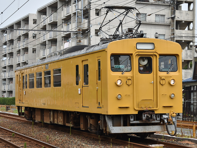 下関総合車両所運用検修センター123系4を居能~宇部新川間で撮影した写真