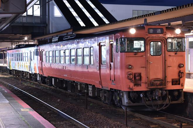 下関総合車両所新山口支所キハ402001を新山口で撮影した写真