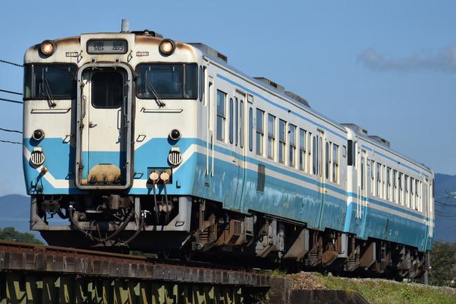 徳島運転所キハ47系118を牛島~下浦間で撮影した写真