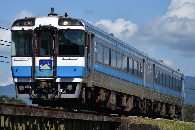 高松運転所キハ185系22を牛島~下浦間で撮影した写真