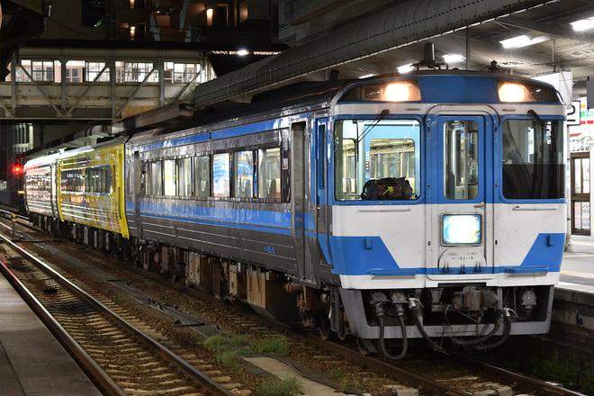 高松運転所キハ18519を徳島駅で撮影した写真