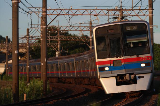 3700形3728Fを大佐倉~京成酒々井間で撮影した写真