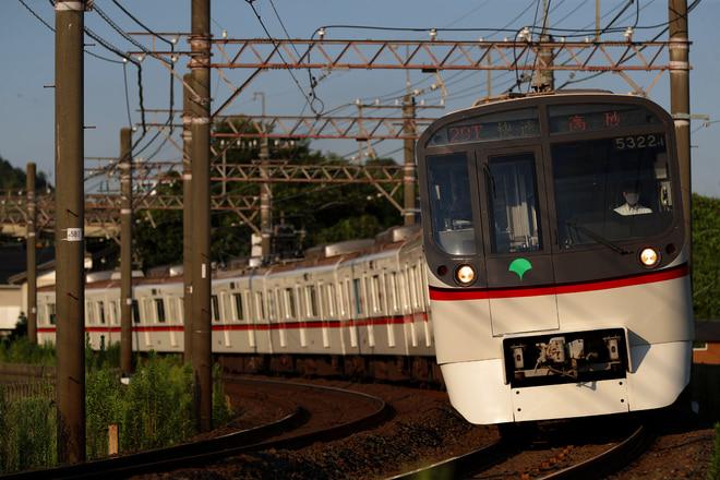 5300形5322Fを大佐倉~京成酒々井間で撮影した写真