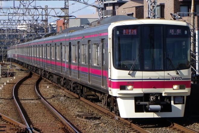 8000系8704Fを八幡山駅で撮影した写真