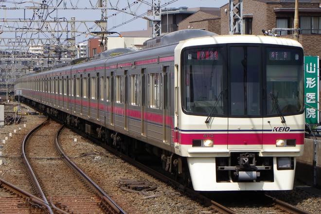 8000系8707Fを八幡山駅で撮影した写真