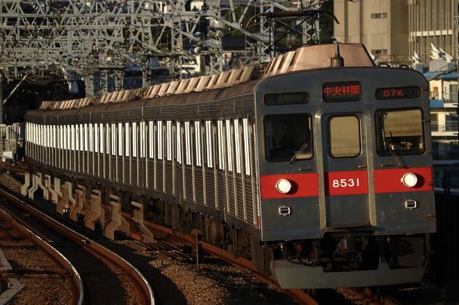 長津田検車区 8500系8631Fを二子新地駅で撮影した写真