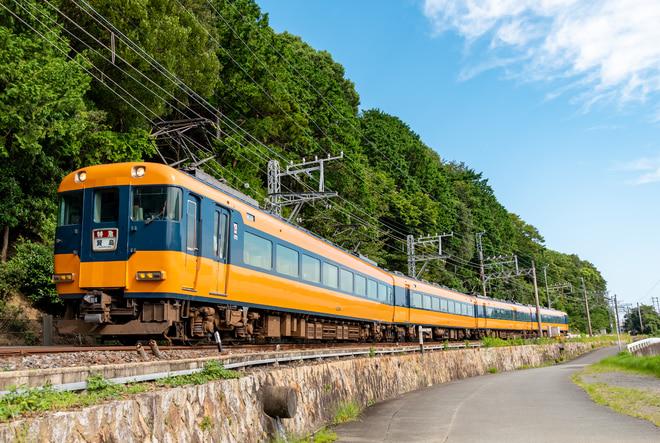 富吉検車12200系NS 56を志摩赤崎~船津間で撮影した写真
