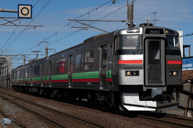 札幌運転所731系G-102編成を新札幌駅で撮影した写真
