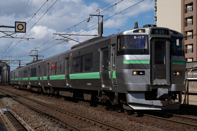 札幌運転所キハ261系を新札幌駅で撮影した写真