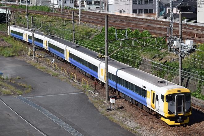 幕張車両センターE257系マリNB-14編成を大宮~浦和間で撮影した写真