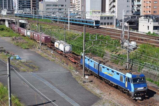 高崎機関区EH20023を大宮~浦和間で撮影した写真