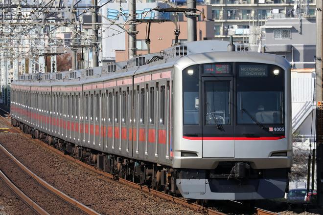 5050系4105Fを柳瀬川~志木間で撮影した写真