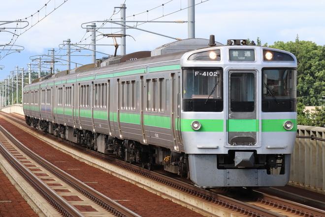 721系を野幌駅で撮影した写真