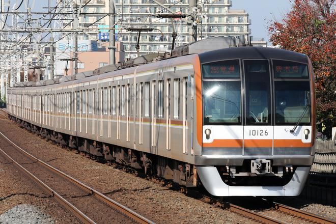 10000系10126Fを柳瀬川~志木間で撮影した写真