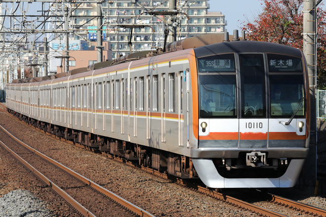 10000系10110Fを柳瀬川~志木間で撮影した写真
