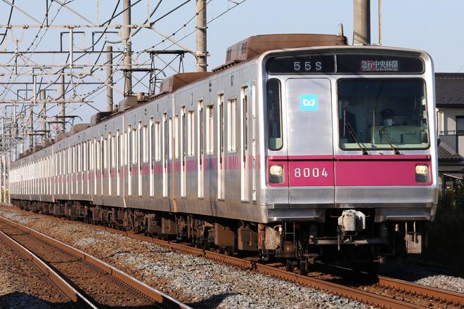 8000系8104Fを東武動物公園~姫宮間で撮影した写真