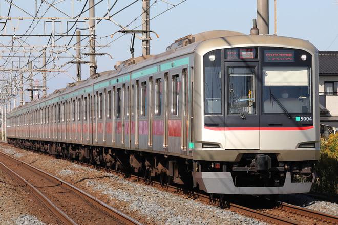 5000系5104Fを東武動物公園~姫宮間で撮影した写真