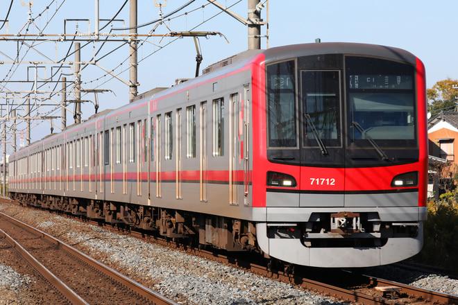 70000系71712Fを東武動物公園~姫宮間で撮影した写真