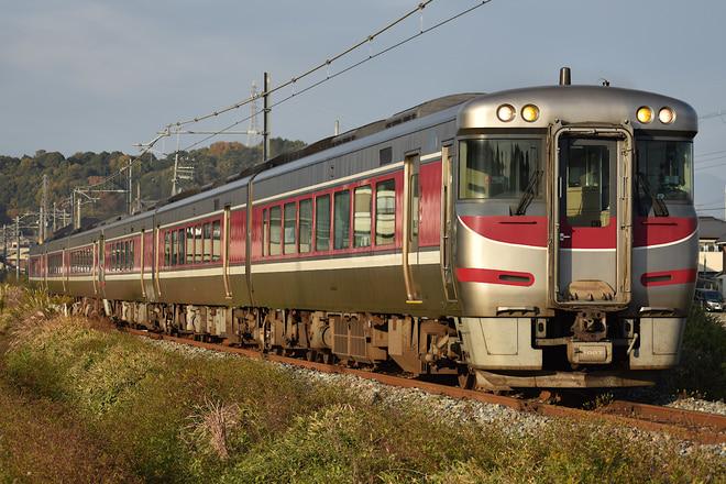 吹田総合車両所京都支所キハ189系H7を溝口~香呂間で撮影した写真