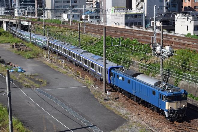 長岡車両センターEF641031を大宮~さいたま新都心間で撮影した写真