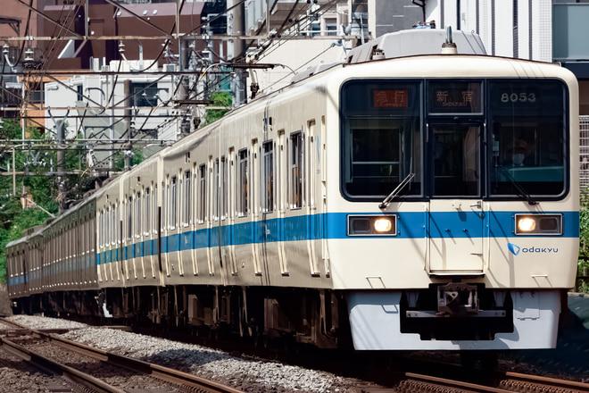 8000形8053Fを参宮橋~南新宿間で撮影した写真