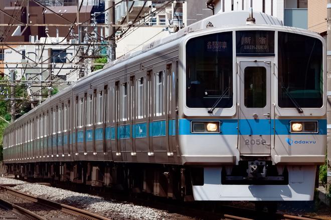 2000形2059Fを参宮橋~南新宿間で撮影した写真
