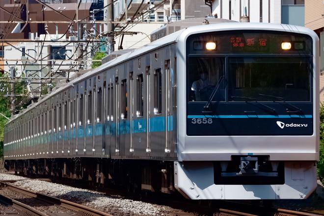 3000形3658Fを参宮橋~南新宿間で撮影した写真