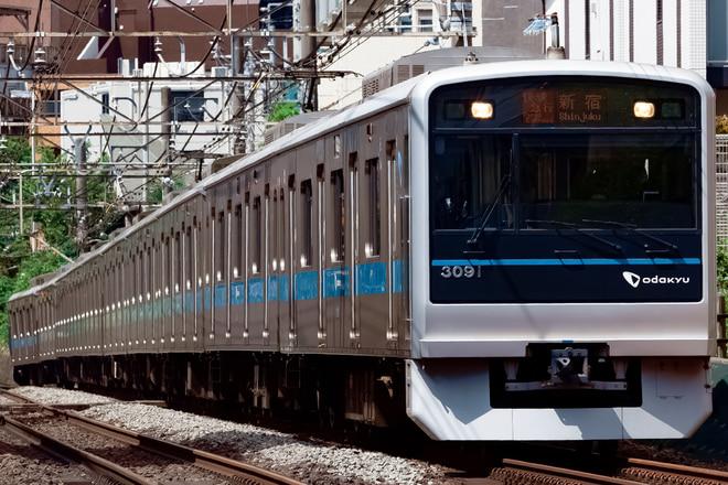 3000形3091Fを参宮橋~南新宿間で撮影した写真