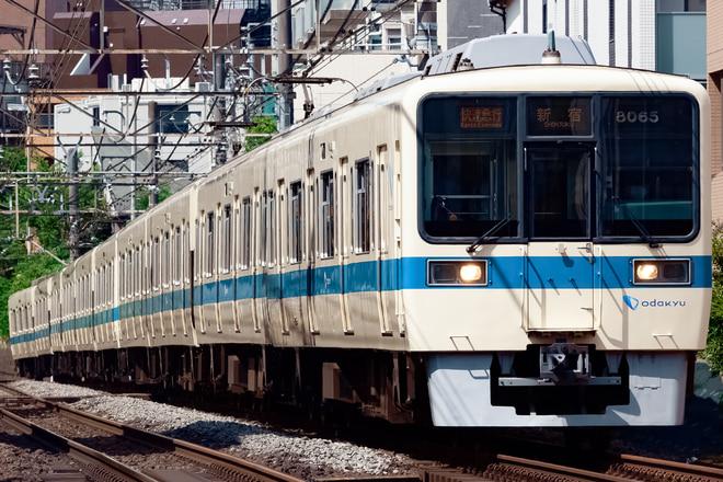 8000形8065Fを参宮橋~南新宿間で撮影した写真
