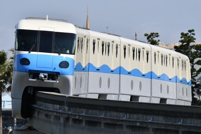 10形第1編成をベイサイド・ステーション~東京ディズニーシー・ステーション間で撮影した写真
