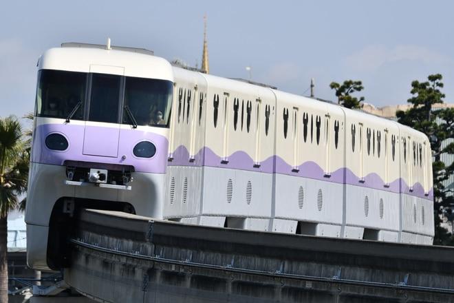 10形第3編成をベイサイド・ステーション~東京ディズニーシー・ステーション間で撮影した写真