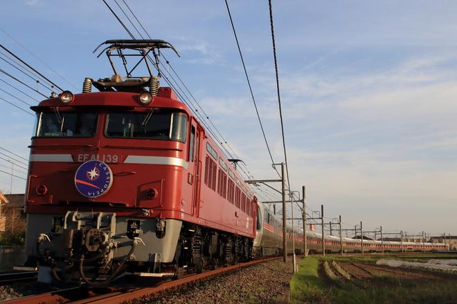田端運転所EF81139を栗橋~古河間で撮影した写真