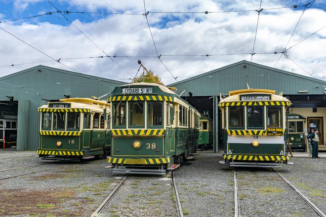 Ballarat Tramway MuseumMMTB E ClassMMTB E ClassをBallarat Tramway Museumで撮影した写真