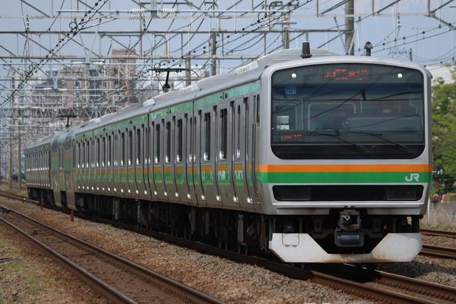 小山車両センターE231系U521を辻堂~藤沢間で撮影した写真