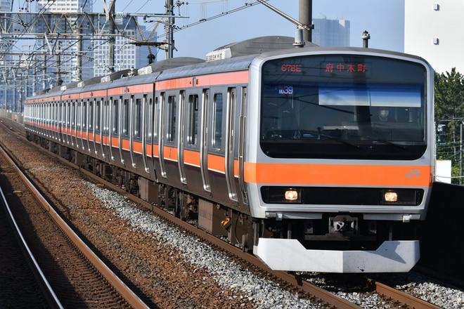 京葉車両センターE231系ケヨMU39編成を市川塩浜駅で撮影した写真
