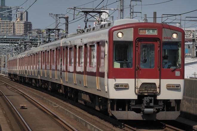 5800系5812Fを烏森駅で撮影した写真
