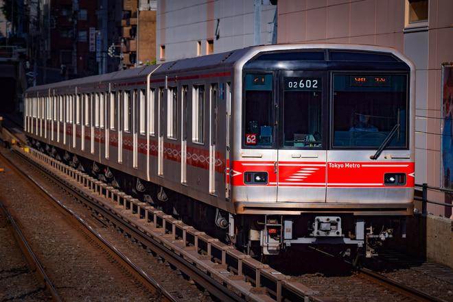 中野検車区02系02-102Fを後楽園駅で撮影した写真