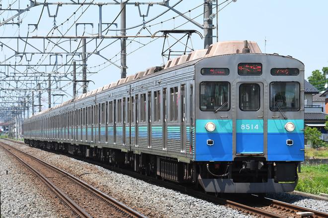 長津田検車区8500系8614Fを東武動物公園~姫宮間で撮影した写真