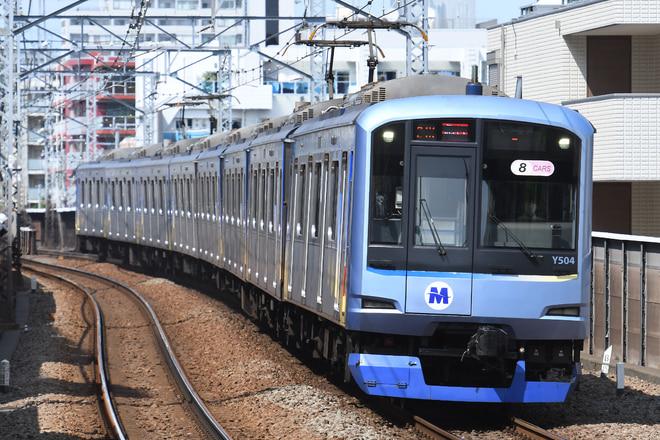長津田検車区Y500系Y514編成を綱島駅で撮影した写真