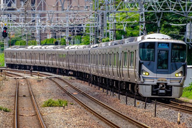 網干総合車両所225系U1編成を山崎駅で撮影した写真